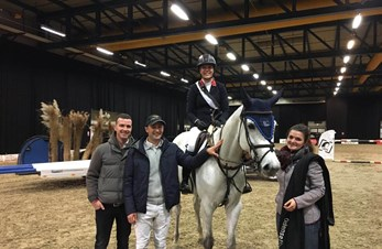 Marit Harr Skollerud and Nicole top the CSI3* Grand Prix of Odense | World of Showjumping