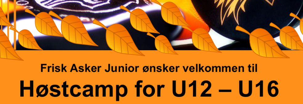 Høstcamp for U12 - U16
