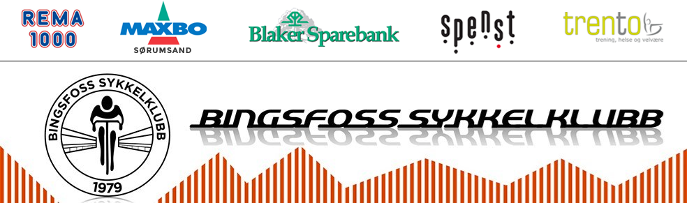Tour de Bingsfoss 2016. Gratis sykkelritt for barn