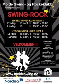 Swing-Rock Kurs Nyb. nivå2