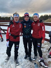 Sesongstart på Dombås for yngre junior
