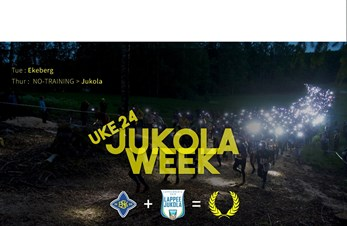Infos for Jr/Sr week 24 - Jukola week!