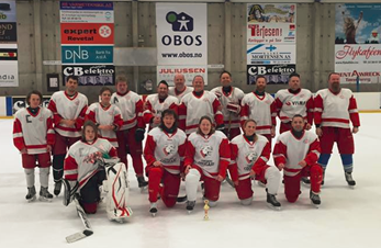 Leftovers-Cougars spilte Oldboys turnering