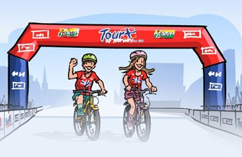 Tour of Norway for Kids til Florø