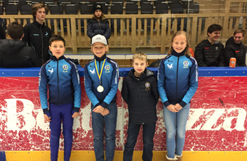 Deltakelse under Malmø International short track - 1 plass til Fredrik