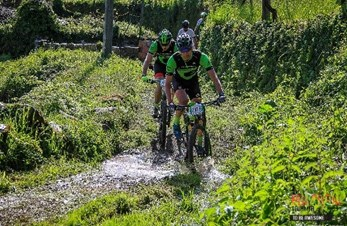Cannondale Vikings på etapperittet Portugal MTB