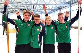 Stange Juniors ble norgesmestere