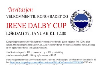 Irene Dalby Cup 2018