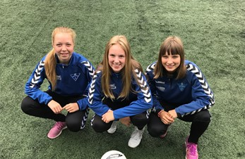 Spente jenter klare for Norway Cup