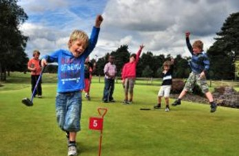 Gratis golftrening for barn og juniorer 2016