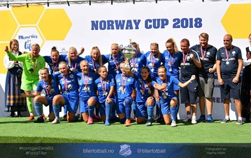 Sølv i Norway Cup