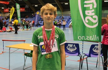 Mange medaljer til Hellas - William (12) sørget for 3 av dem