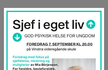 God psykisk helse for ungdom