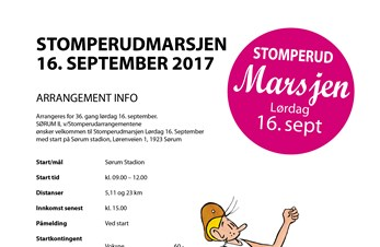 Stomperudmarsjen 16. September 2017