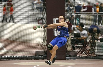 Thomas klar for NCAA Indoor Championships i vektkast!