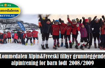 Informasjonskriv for alpintrening for 2008-2009 årsgruppen