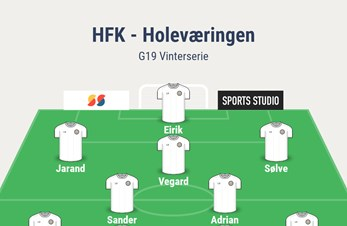 HFK SLO HOLEVÆRINGEN, VIDERE I JUNIOR NM FOR 9 ÅR PÅ RAD