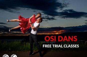 Gratis prøvetimer // Free Trial Classes