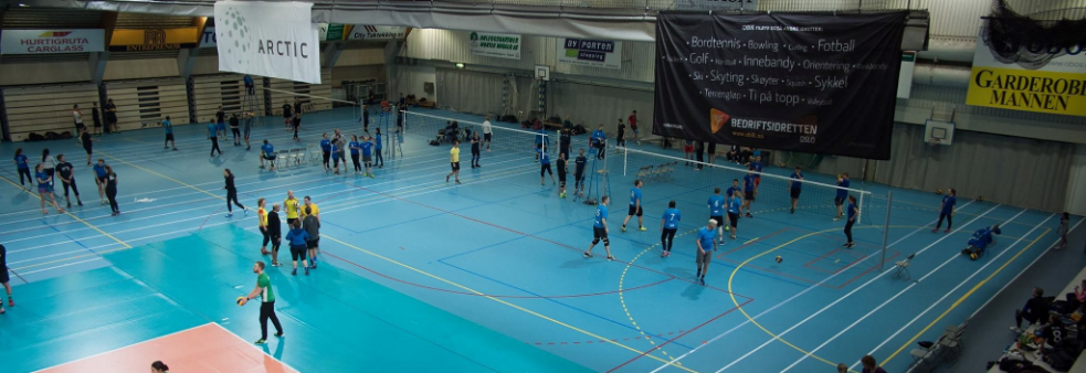 TURNERING FOR BEDRIFTER I VOLLEYBALL 2019