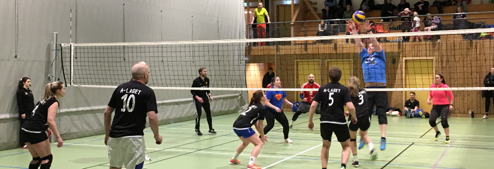 Volleyball Mix-serie Breivikahallen Vår 2019