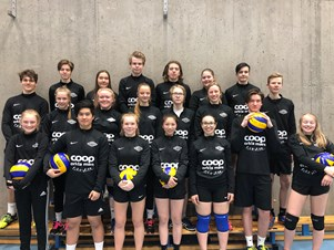 Spillerne i Melhus IL Volleyball sesongen 2017/18