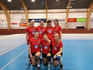 The Ladies Volleyball Team wins against Fraena VK!