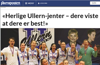 NM-gull til Ullern basket J19