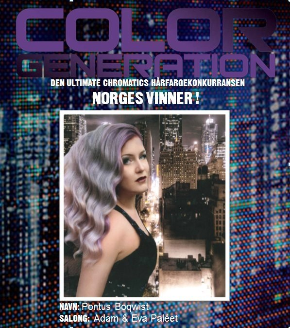 I Won The Redken Color Generation Chromatics Hårfargekonkurranse!