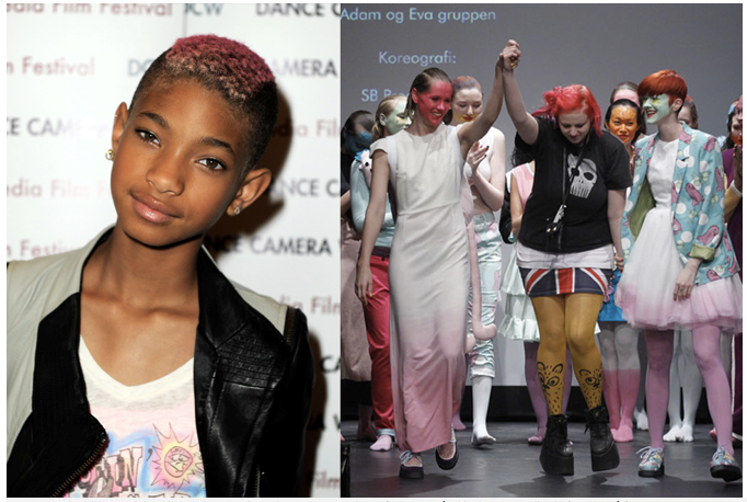 Fam Irvoll + Willow Smith = sant!