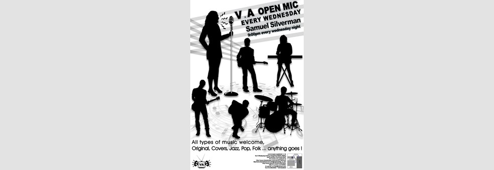 V.A OPEN MIC EVERY WEDNESDAY!!! Samuel Silverman [