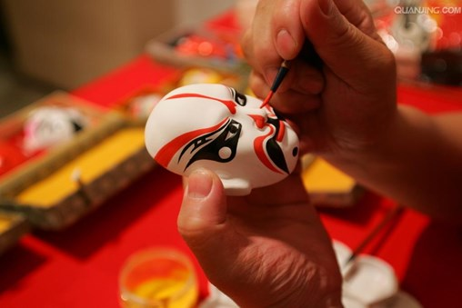 Beijing Opera Mask Making