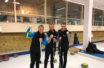 Vel gjennomført curlingturnering for sponsorer