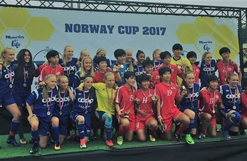 J03 i Norway cup-finale