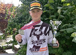 NM Sølv i MX Junior 125 til Vetle Olsen