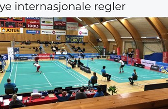 Nye internasjonale regler for serve